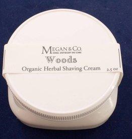 Woods Shaving Cream  4 oz