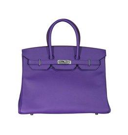 Hermès Hermès Purple Crocus Birkin 35 cm