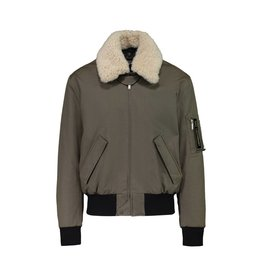 "Saint Laurent Paris Saint Laurent Paris Khaki ""Bad Lieutenant"" Aviator Bomber"
