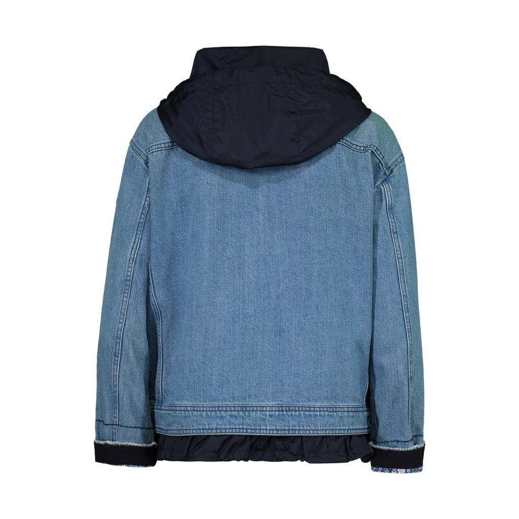 Moncler Moncler Denim Joubarde Windbreaker Jacket
