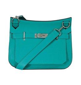 Hermès N/A - Hermès Malachite Bleu Paon Jypsière 31cm Shoulder Bag