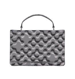 Prada Prada Molecule-Print Saffiano Top-Handle Bag