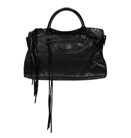 Balenciaga Balenciaga Black Medium City Bag
