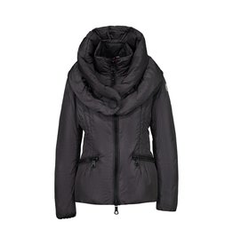 Moncler N/A - Moncler Grey-Plum Mengs Down Filled Coat