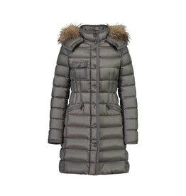 Moncler N/A - Moncler Taupe Hermifur Coat