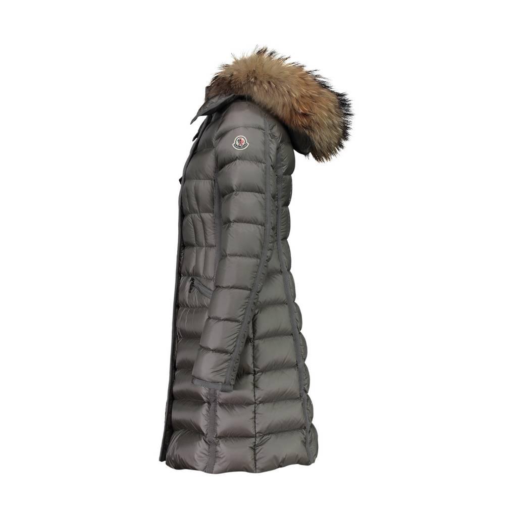 0e2a0f88e Moncler N/A - Moncler Taupe Hermifur Coat