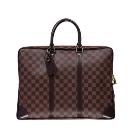 Louis Vuitton N/A - Louis Vuitton Ebene Damier Porte-documents Voyage Briefcase