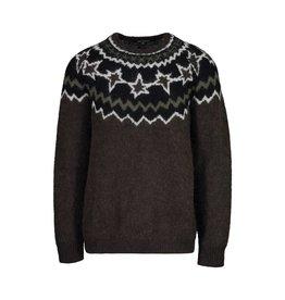 Neil Barrett Neil Barrett Olive Green Mohair-Blend Sweater