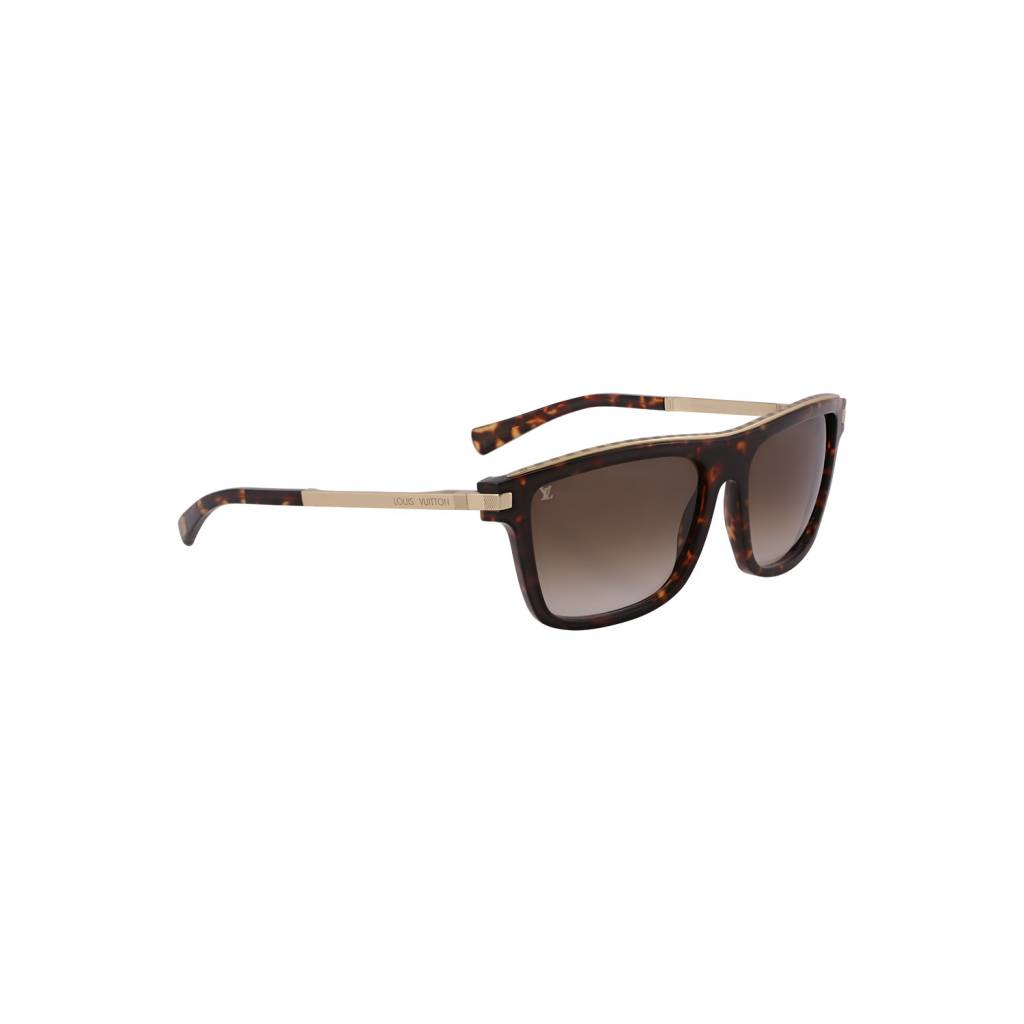 Louis Vuitton N/A - Louis Vuitton Tortoiseshell Perception Sunglasses