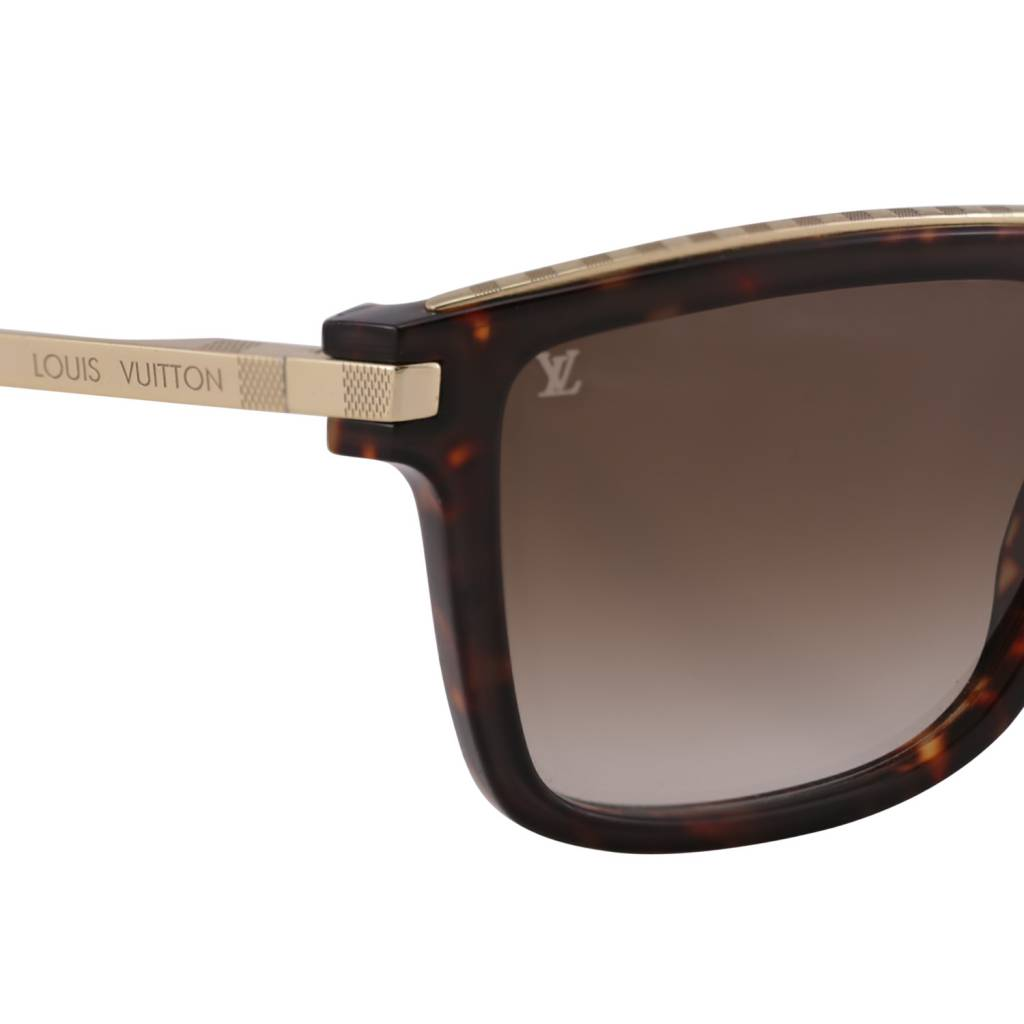 Louis Vuitton NON DISPONIBLE - Louis Vuitton lunettes de soleil Perception  en écaille de tortue