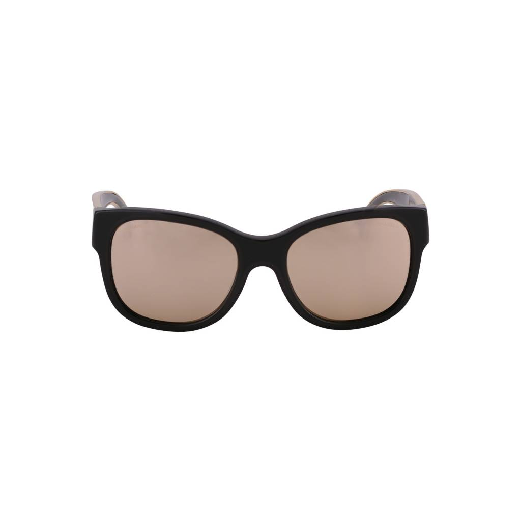 Chanel Chanel lunettes de soleil Wayfearer noires effet miroir