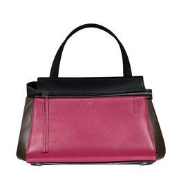 96be47be17d3 Céline Céline Tricolor Small Edge Shopping Tote
