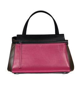 Céline N/A - Céline Tricolor Small Edge Shopping Tote