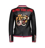 "Gucci NON DISPONIBLE - Gucci blazer en cuir ""Blind For Love"""