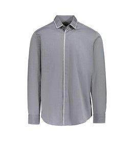 Lanvin Lanvin chemise grise avec bordure argentée