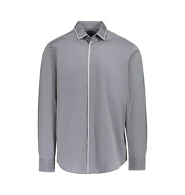 Lanvin Lanvin Grey Shirt With Silver Trim