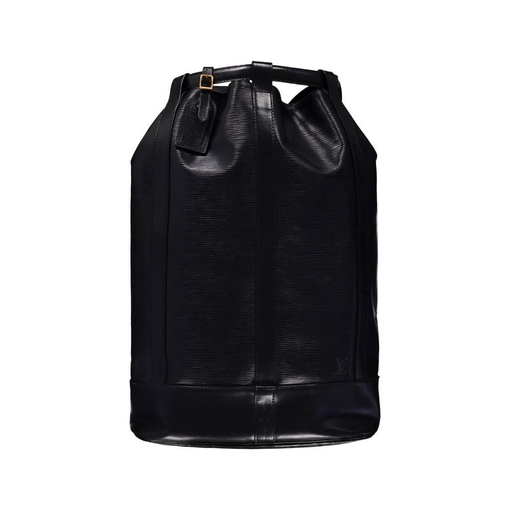 3ea170208d Louis Vuitton NON DISPONIBLE - Louis Vuitton sac à dos noir Epi Randonnée  GM ...