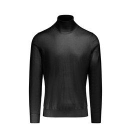 Yves Saint-Laurent Yves Saint-Laurent Dark Brown Wool Turtleneck