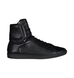 Saint Laurent Paris NON DISPONIBLE - Saint Laurent Paris baskets montantes noires Signature Court