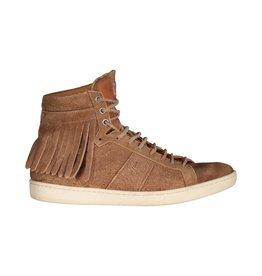 Saint Laurent Paris Saint-Laurent Tan Fringe SL/16H Court Classic Sneakers