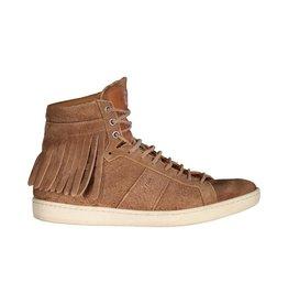 Saint Laurent Paris Saint-Laurent Tan Fringe SL/18H Court Classic Sneakers