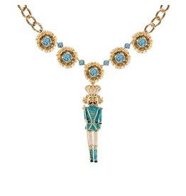 Dolce & Gabbana NON DISPONIBLE - Dolce & Gabbana collier doré avec pendentif casse-noisette