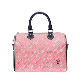 Louis Vuitton Louis Vuitton Limited Edition 2017 Red Speedy 25 Handbag