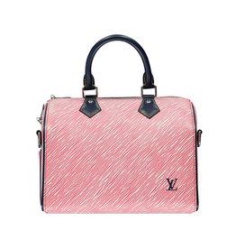 Louis Vuitton NON DISPONIBLE - Louis Vuitton sac à main Speedy 25 rouge édition limitée 2017