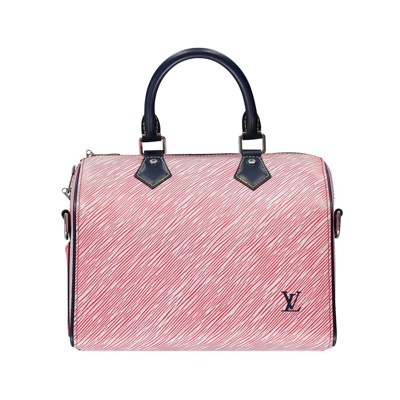 0a115ac9848ea Louis Vuitton Louis Vuitton Limited Edition 2017 Red Speedy 25 Handbag ...