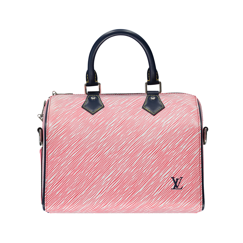 Louis Vuitton Louis Vuitton sac à main Speedy 25 rouge édition limitée 2017