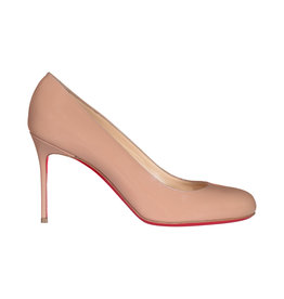 Christian Louboutin Christian Louboutin escarpins nude Simple Pumps en cuir verni 85mm