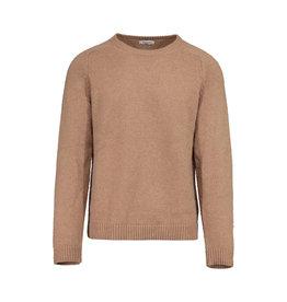 Valentino N/A - Valentino Tan Camel Hair Round Neck Sweater