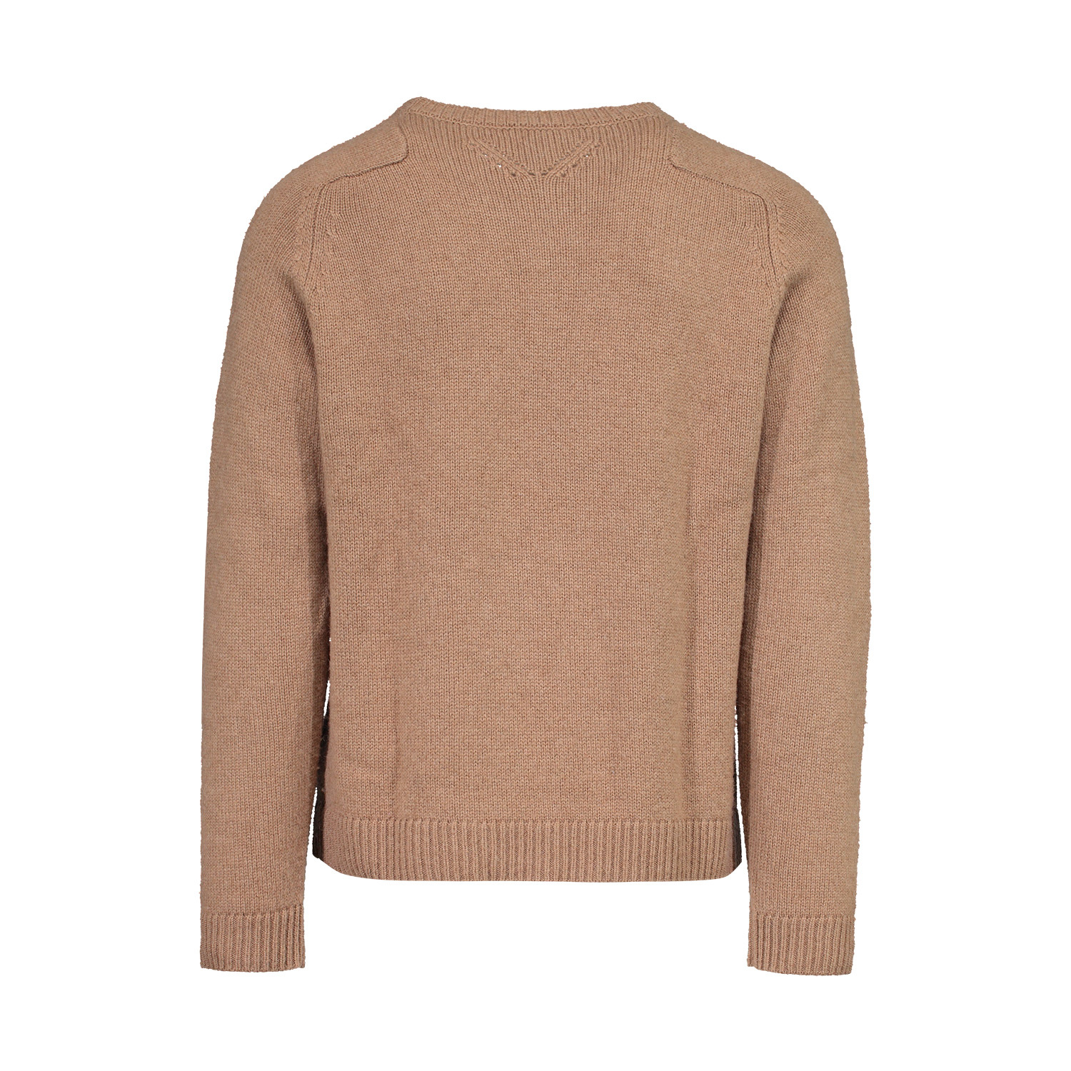 Valentino Valentino Tan Camel Hair Round Neck Sweater