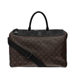 Louis Vuitton N/A - Louis Vuitton Monogram Ebene Neo Greenwich Duffle Bag