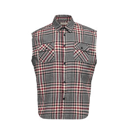Fear of God Fear of God Collection One Sleeveless Flannel Shirt