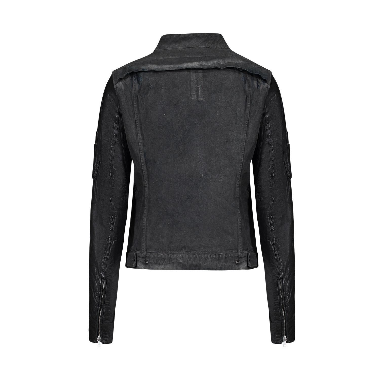 Rick Owens DRKSHDW Rick Owens DRKSHDW Slave Jacket with Leather Sleeves