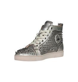 Christian Louboutin Christian Louboutin Silver Spike Python Louis Orlato Sneakers