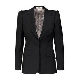 Chloé SUR DEMANDE - Chloé veston noir en laine