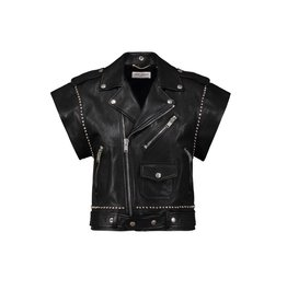 Saint Laurent Paris Saint-Laurent Paris Leather Vest