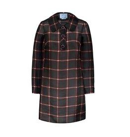 Prada Prada Organza Silk Checkered Dress