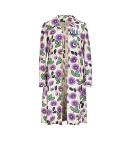 Marni N/A - Marni Runway Vintage Floral Cotton and Silk Coat