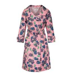 Prada NON DISPONIBLE- Prada Runway trench rose à fleurs vintage