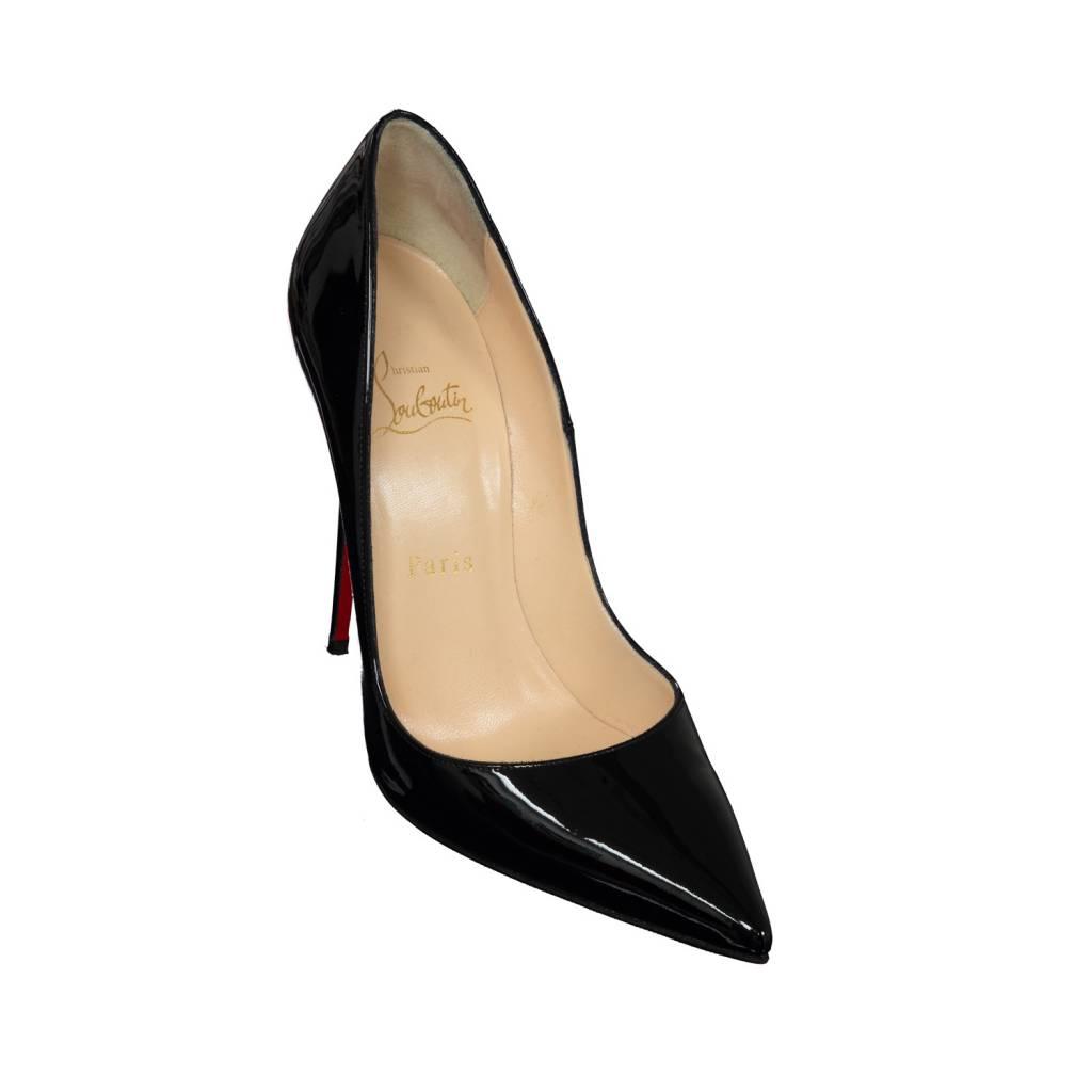 nouveaux styles dc768 e8cdb Christian Louboutin NON DISPONIBLE - Christian Louboutin escarpin Pigalle  en patent noir