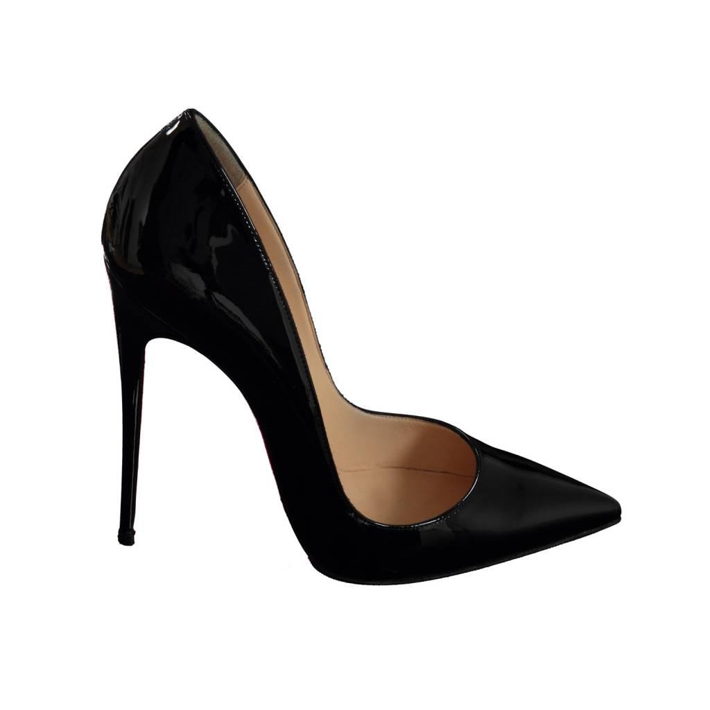 taille 40 80c14 f1f77 Christian Louboutin escarpin Pigalle en patent noir