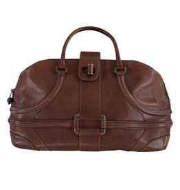 Alexander McQueen Alexander McQueen Brown Travel Bag