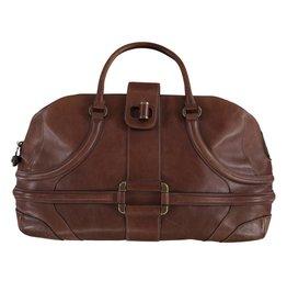 Alexander McQueen Alexander McQueen sac de voyage brun