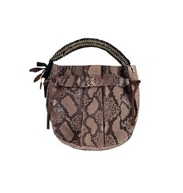 Marni Marni Python Shoulder Bag with Chain Strap