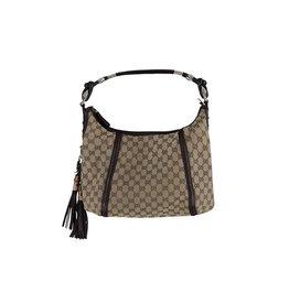 Gucci N/A - Gucci GG Supreme Motif Hobo