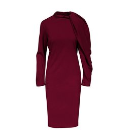 Lanvin Lanvin Dress with Gathered Sleeve