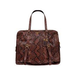 Prada N/A - Prada Brown Snakeskin Bag